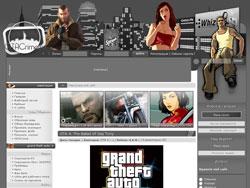 шаблон для Ucoz на тему GTA 4 - GTA crime
