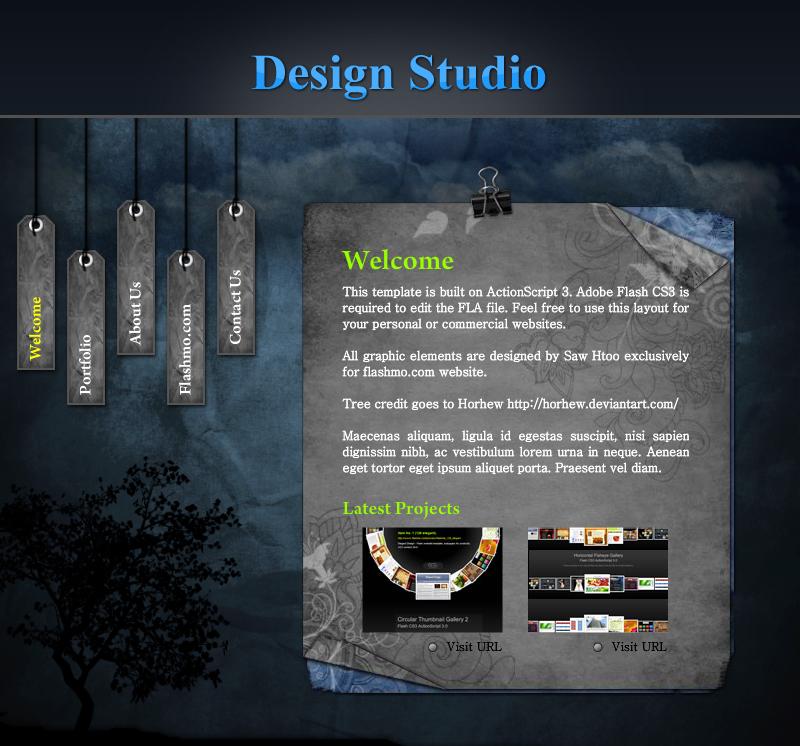 Дизайн студия ucoz