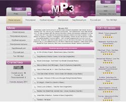 Мп3 пульс шаблон для uCoz